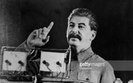 Stalin making impacts with his speech