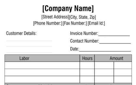 The Invoice Template