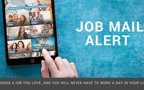 Create A Job Mail Alert, Never miss an opportunity again