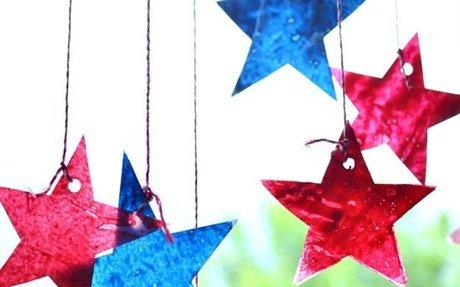 4th of July Star Sun Catchers