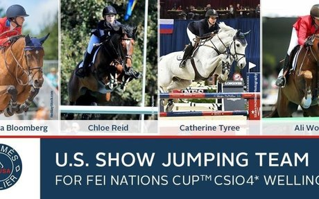 Show Jumping: U.S. Team Named for FEI Nations Cup™ CSIO4* Wellington