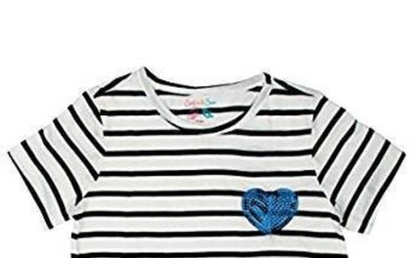 Amazon.com: Sofie & Sam Cotton Child Kids Girls Tee T-Shirt Top: Clothing