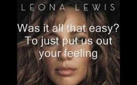 Leona Lewis-Better in Time w/lyrics