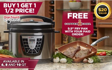 Electric Pressure Cooker | Power Pressure Cooker XL™
