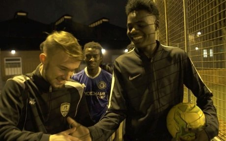 English football club empowers refugees on and off the pitch