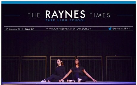 Raynes Park High School Times Issue 87