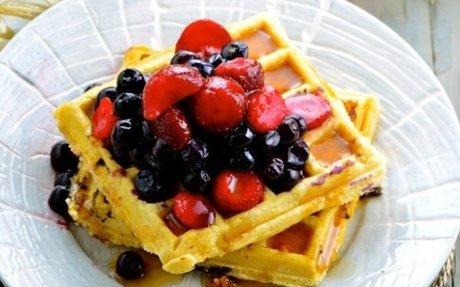 Basic Batter Waffles Recipe - Genius Kitchen