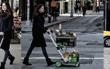 Clax Folding Shopping Cart - Collapsible Cart