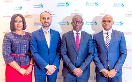StanChart, Prudential Life sign bancassurance pact