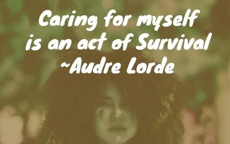 6 Encouraging Audre Lorde Quotes for Survivors