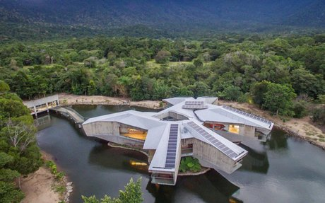 Luxurious Off-Grid Star Wars Inspired Home in Australia