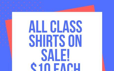 Student Council T-Shirt Sale