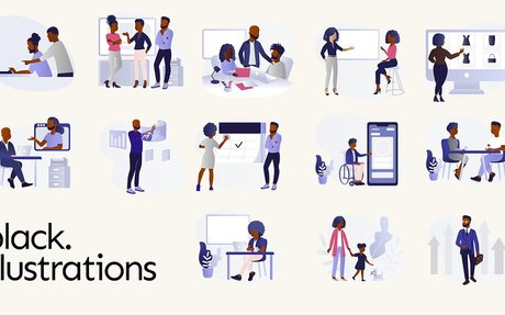 Illustrations of Black People for Your Next Digital Project | Black Illustrations
