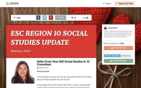 ESC REGION 10 SOCIAL STUDIES UPDATE
