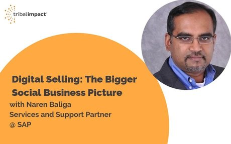 Digital Selling With SAP's Naren Baliga #DigitalSelling
