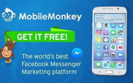 MobileMonkey is the world's best Facebook Messenger marketing platform