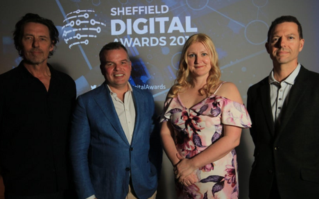 Our co-founder is headline speaker at first Sheffield Digital Awards