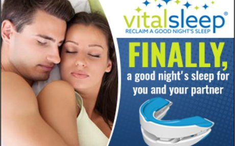VitalSleep® | Anti-Snoring Mouthpiece For Restful Sleep For Snorers