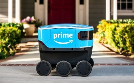 BRAND HIGHLIGHT // Virginia Legislature Clears Way For Amazon Delivery Robots