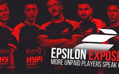 Epsilon Esports Exposed for Not Paying Players - Epsilon Esports Scandal