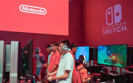 Nintendo shares hit 19-month high as Switch goes on sale in China