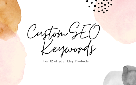 Custom SEO Tags for 12 of your Product Listings