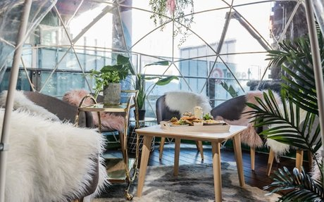Rug Up, The Aviary's Jaw-Dropping Rooftop Igloos Are Back This Winter
