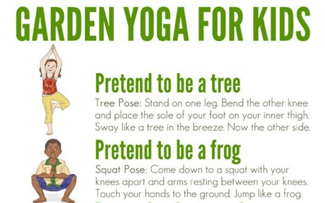 Yoga for Kids: Garden Themed Yoga Complete With Printable Poster