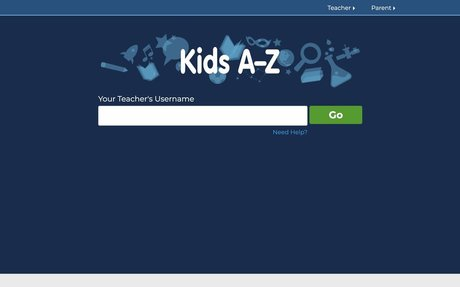 Kids Login | Kids A-Z