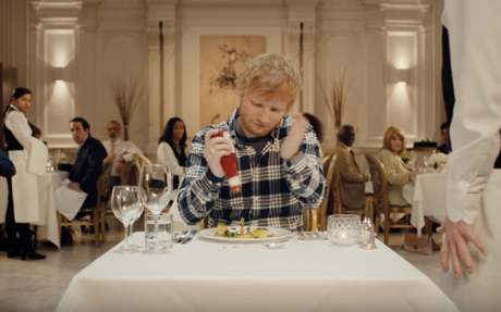 Ed Sheeran's DM to Heinz becomes an actual TV ad