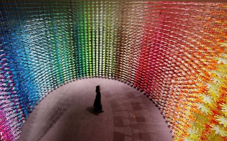 DESIGN // Can You Use Color As A Material In An Immersive Installation?
