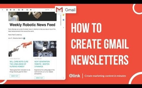 How to Create a Beautiful Gmail Newsletter
