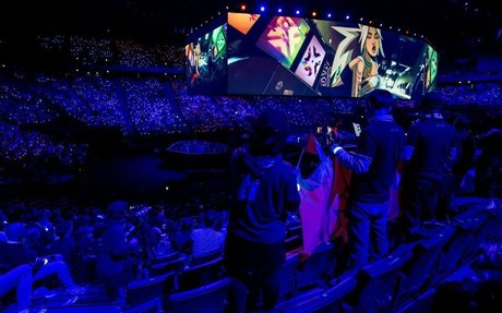 Riot Games debuts hologram tech for League of Legends World Championship final opening ...