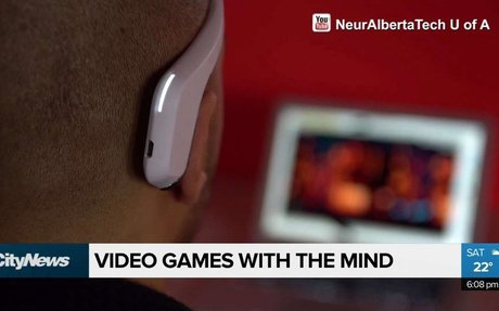 Playing video games with mind control