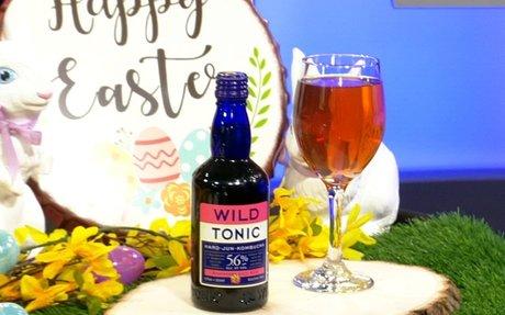 Create an Easter cocktail with Wild Tonic's Hard Jun Kombucha