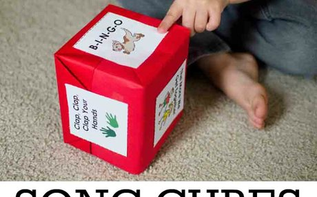 Song Cubes and Finding the Beat  Game