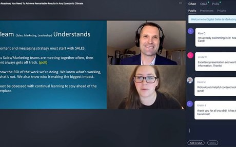 What I Learned Hosting A Virtual Marketing Event For 3,000 People #VirtualEvents