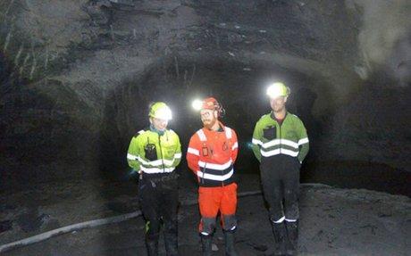 Særs utfordrende tunneldriving