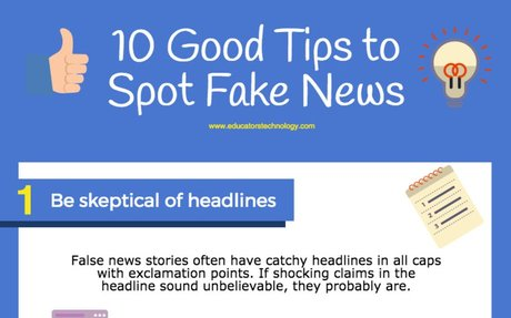 Practical Tips to Help Students Spot Fake News