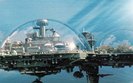 Mini-flying Cities, Creation and Expansion using Maglev Technology (Expected 2300)
