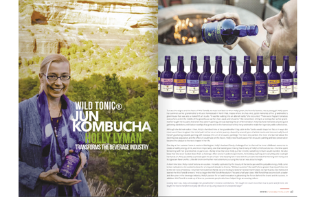 Wild Tonic® Jun Kombucha Founder Holly Lyman Transforms the Beverage Industry - Food & ...