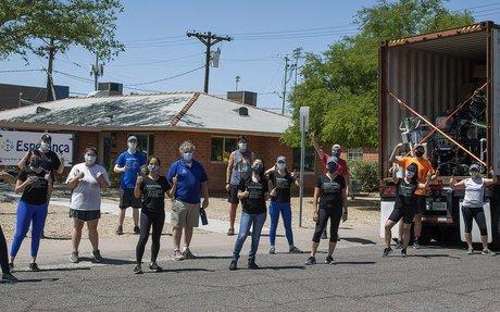 Esperança Shipment Day: Staff Pack/Load Medical Supplies for Distribution in Nicaragua ...