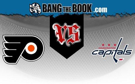 Philadelphia Flyers vs. Washington Capitals Free Pick 3/4/20 - BangTheBook.com