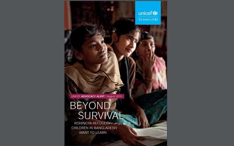 Beyond Survival, Rohingya refugee children in Bangladesh want to learn August 2019 update