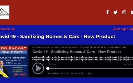 Covid-19 - Sanitizing Homes & Cars - New Product