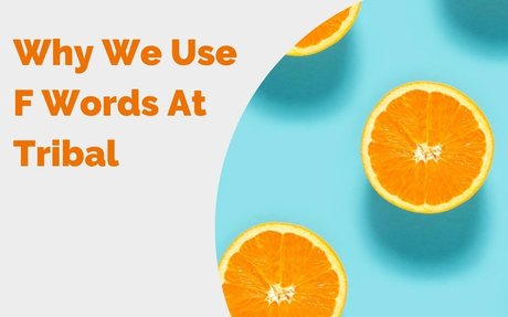 Why We Use F Words At Tribal #LifeAtTribal