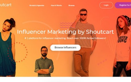 At Shoutcart,we connect you with popular influencers to get your brand in front of thei...