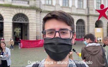 #UPNÃOAUMENTA   Bloco presente no protesto de Estudantes da UP