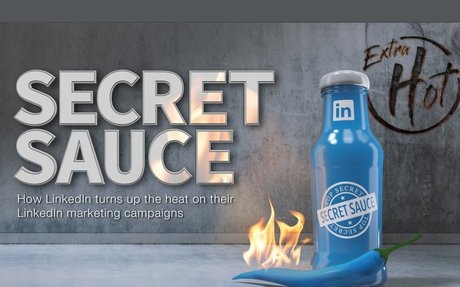How LinkedIn Turns Up The Heat On Their Own Marketing Campaigns #B2BMarketing