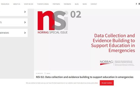 Data collection and evidence building to support education in emergencies